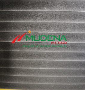 Tấm PVC Foam Mudena MF02Thông số kỹ thuật của Tấm PVC Foam Mudena:Độ dày: 5mm-20mm;Kích thước: 1220*2440mmTỷ trọng: 0.55-0.6 g/cm3Màu sắc: ĐenGhi chú: Dung sai kt, dài, rộng +/- 2mm, dày +/- 0,2mm, trọng lượng tấm +/- 2%