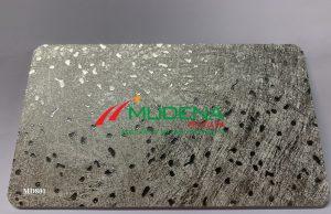 Tấm PVC Foam Mudena MD801Độ dày: 5mm-20mm;Màu tấm cốt: Tấm nhựa PVC Foam Đen cao cấp;Kích thước: 1220*2440 mmTỷ trọng: 0.55-0.6 g/cm3Ghi chú: Dung sai kt, dài, rộng +/- 2mm, dày +/- 0,2mm, trọng lượng tấm +/- 2%