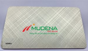 Tấm PVC Foam Mudena MD803Độ dày: 5mm-20mm;Màu tấm cốt: Tấm nhựa PVC Foam Đen cao cấp;Kích thước: 1220*2440 mmTỷ trọng: 0.55-0.6 g/cm3Ghi chú: Dung sai kt, dài, rộng +/- 2mm, dày +/- 0,2mm, trọng lượng tấm +/- 2%